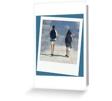 The Road to Dream Land Greeting Card
