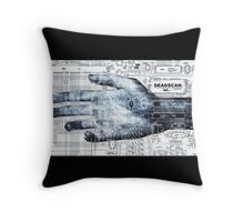 DeadScan™ Hand Throw Pillow