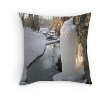 Frozen Throw Pillow