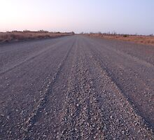 Road To No Where - Western Australia by Heather Linfoot