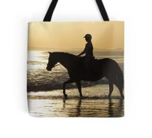 Sunset Rider Tote Bag