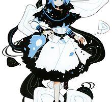 Touhou - Ichirin Kumoi by Whitedark