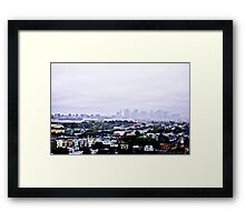 View from East Boston Framed Print