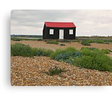 The Red Hut Canvas Print