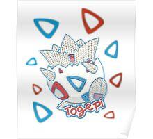 Yarn Togepi Poster