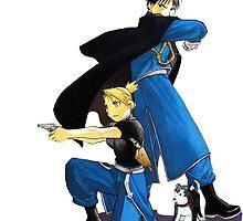 Fullmetal Alchemist - Roy & Ryza by Whitedark