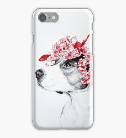 Dog crown iPhone Case/Skin