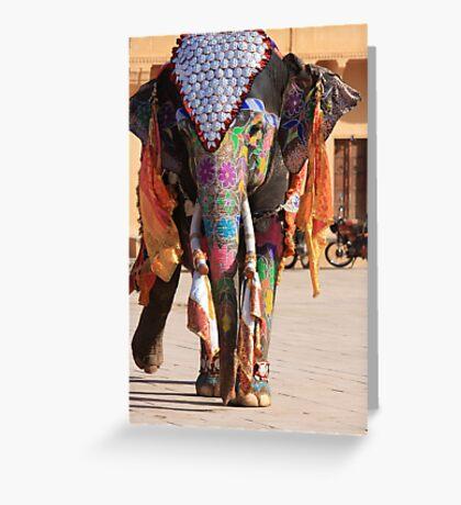 Walking Gracefully Greeting Card
