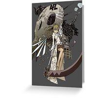 Soul Eater - Maka Albarn Greeting Card
