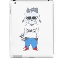 Raccoon OMG Design iPad Case/Skin