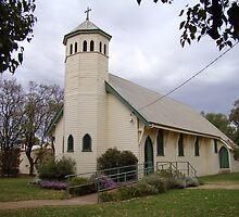 St John the Baptist Church, Warren, NSW by Jan Stead JEMproductions