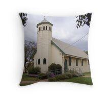 St John the Baptist Church, Warren, NSW Throw Pillow
