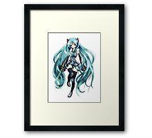 Vocaloid - Miku Hatsune Framed Print