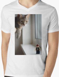 Solo Mens V-Neck T-Shirt