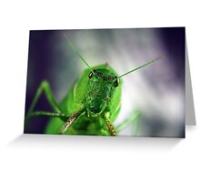 I have my eyes on you Greeting Card