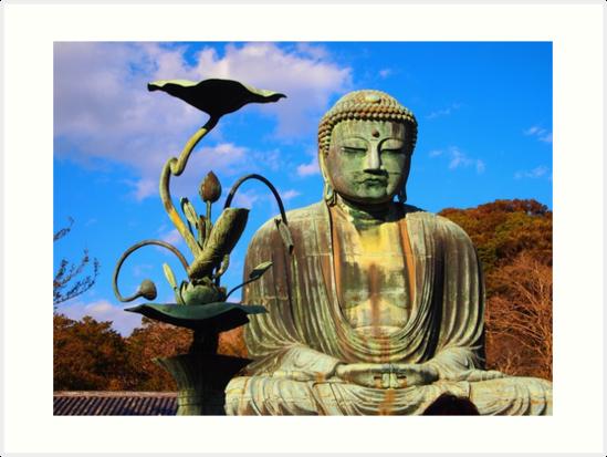 The Great Buddha of Kamakura by Fike2308