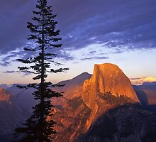 Half Dome from Glacier Point #2 by Mike Norton