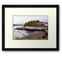 Portree Harbour Framed Print