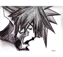 Vanitas (Black and White) - Kingdom Hearts 2,5 Photographic Print