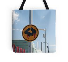 0838 Pedestrians doing quick step Tote Bag