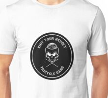 Knit Your Revolt Tricycle Gang 2 Unisex T-Shirt
