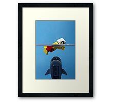 Star-Jaws Framed Print
