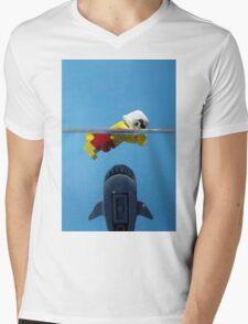Star-Jaws Mens V-Neck T-Shirt