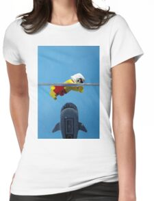 Star-Jaws Womens Fitted T-Shirt