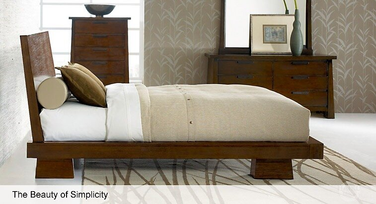 get hiro platform bed a modern furniture for bedroom from