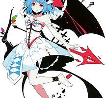 Touhou - Remilia Scarlet by Whitedark