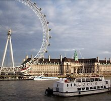 Eye by the Thames by Cheryl Kay-Roberts