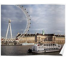 Eye by the Thames Poster