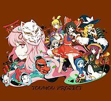 Touhou Project by Whitedark