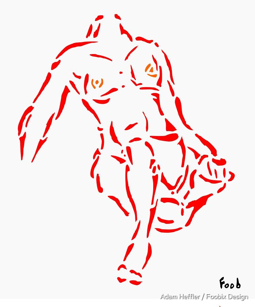 Nudity Two by Adam Heffler / Foobix Design