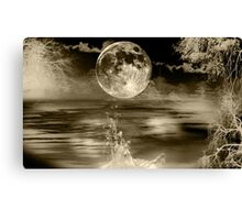 Moonlight - Art + Products Design  Canvas Print