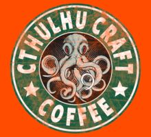Cthulhu Craft Coffee Kids Tee