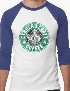 Cthulhu Craft Coffee Men's Baseball ¾ T-Shirt