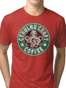 Cthulhu Craft Coffee Tri-blend T-Shirt
