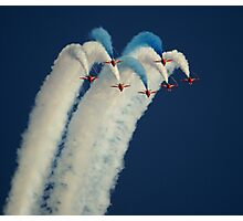 Red Arrows in Cambridge Photographic Print
