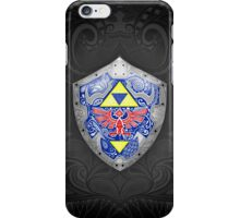 Zelda - Link Shield doodle iPhone Case/Skin
