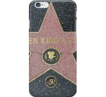 Ben Kingsley's Star on the Walk of Fame iPhone Case/Skin