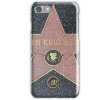 Ben Kingsley's Star on the Walk of Fame iPhone Case/Skin