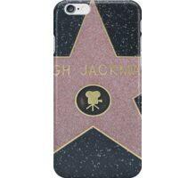 Hugh Jackman's Star on the Walk of Fame iPhone Case/Skin