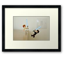 """You've taken your first step into a larger world."" Framed Print"