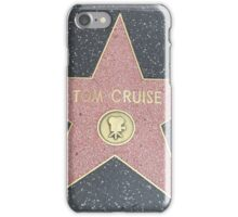 Tom Cruise's Star on the Hollywood Walk of Fame iPhone Case/Skin