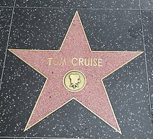 Tom Cruise's Star on the Hollywood Walk of Fame by Fike2308