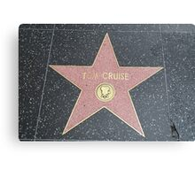 Tom Cruise's Star on the Hollywood Walk of Fame Canvas Print