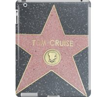 Tom Cruise's Star on the Hollywood Walk of Fame iPad Case/Skin