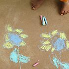 Chalk art by Leafy by Rachel  Devenish Ford