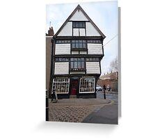 King's English Shop, Canterbury Greeting Card